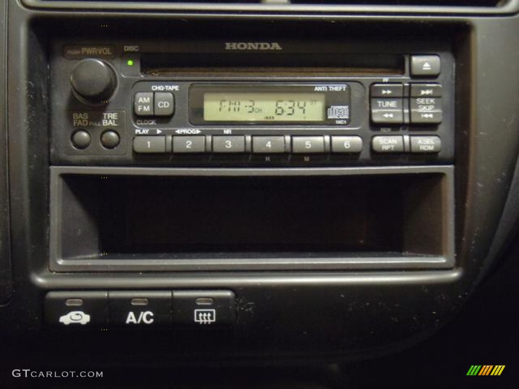 2000 honda civic ex coupe audio system photo 58814466. Black Bedroom Furniture Sets. Home Design Ideas