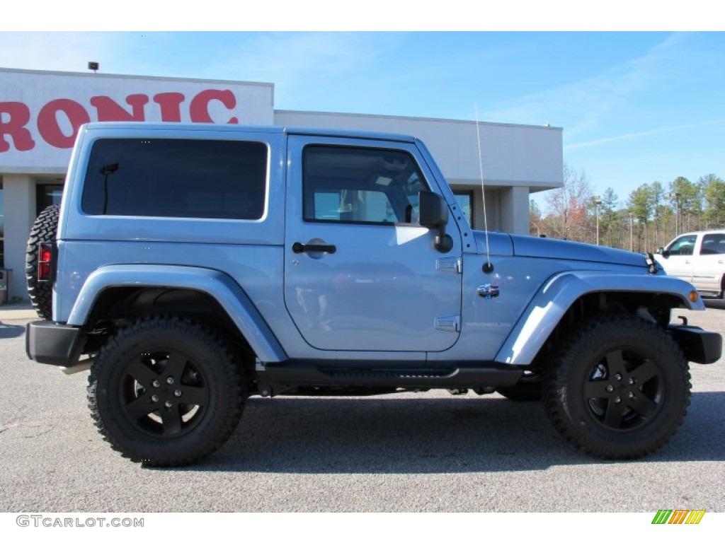 2012 winter chill pearl jeep wrangler sahara arctic edition 4x4 58782708 photo 8 gtcarlot. Black Bedroom Furniture Sets. Home Design Ideas