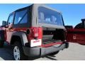 2012 Flame Red Jeep Wrangler Sport 4x4  photo #14