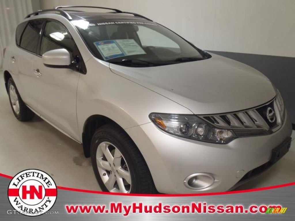 2010 Murano SL - Brilliant Silver Metallic / Black photo #1