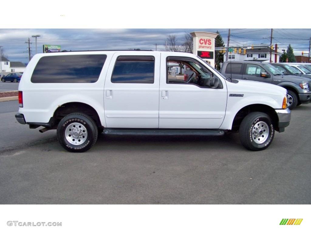 Oxford White 2000 Ford Excursion Xlt 4x4 Exterior Photo