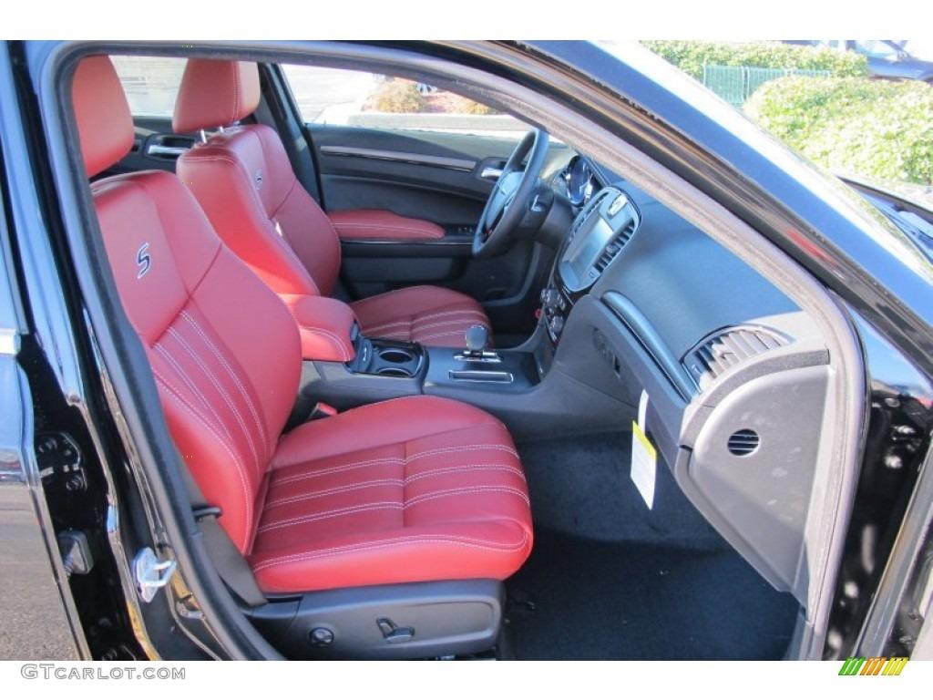 Black Radar Red Interior 2012 Chrysler 300 S V6 Photo 58853815