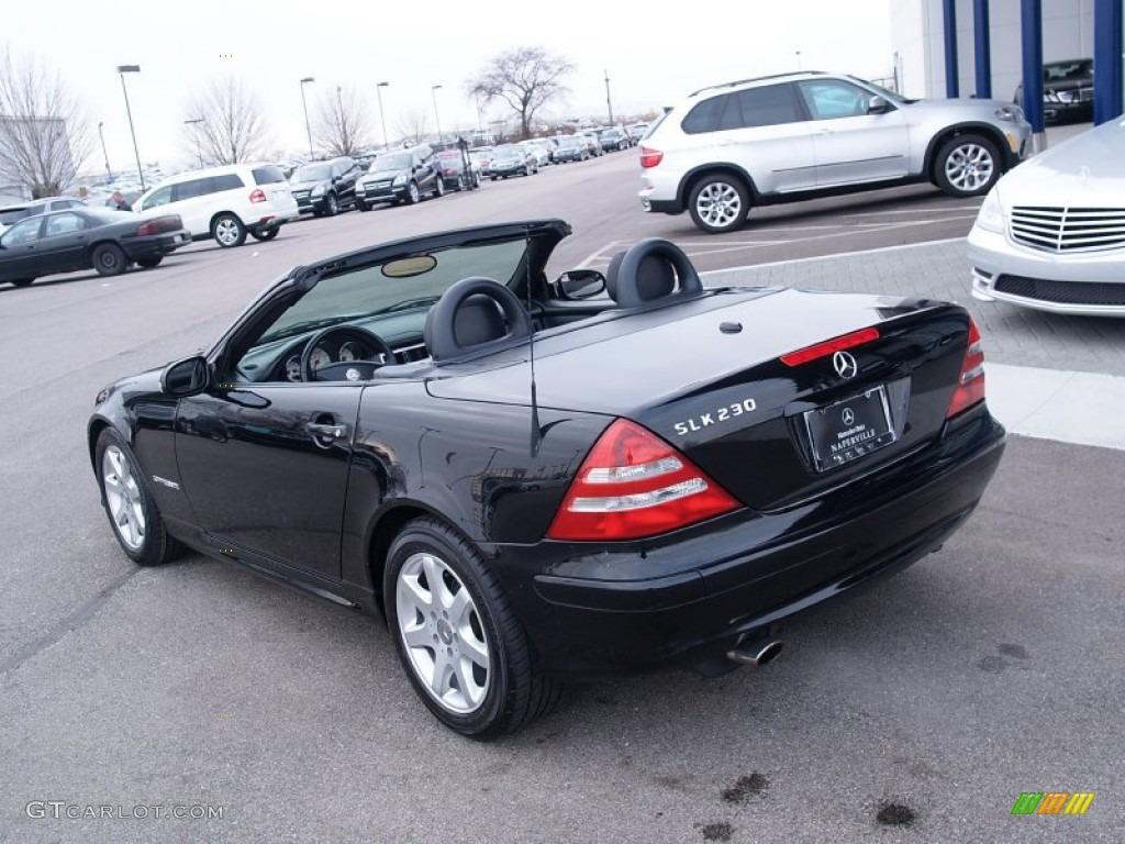 2002 black mercedes benz slk 230 kompressor roadster 58853292 photo 4 car. Black Bedroom Furniture Sets. Home Design Ideas