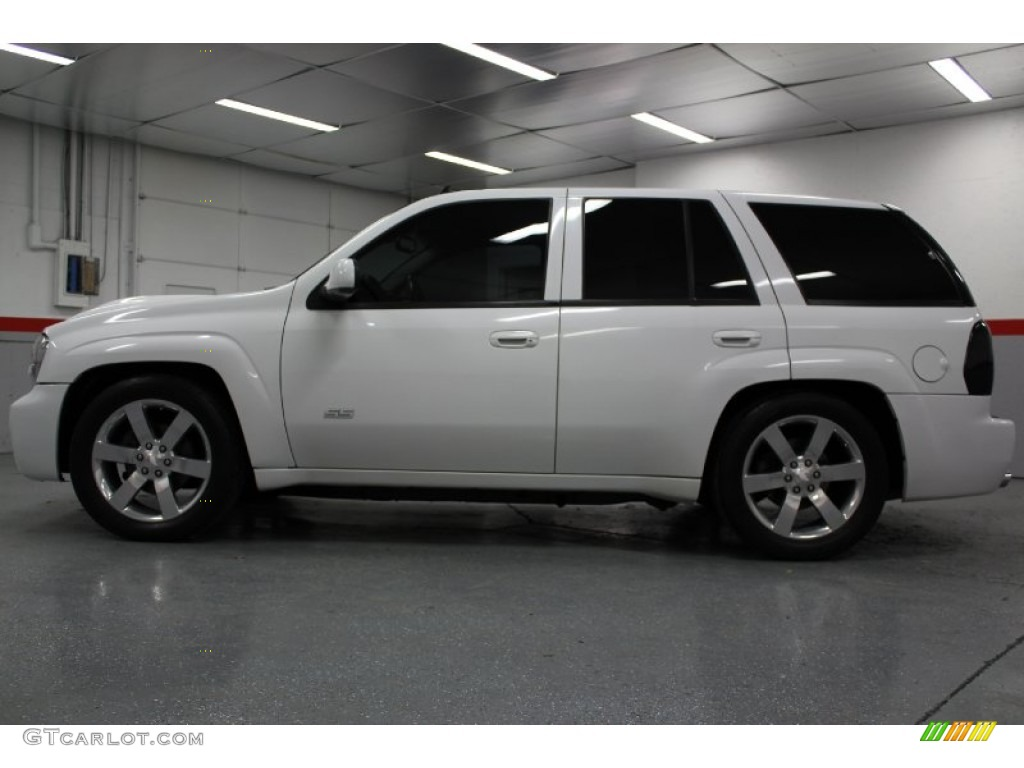 summit white 2006 chevrolet trailblazer ss awd exterior photo 58856725. Black Bedroom Furniture Sets. Home Design Ideas