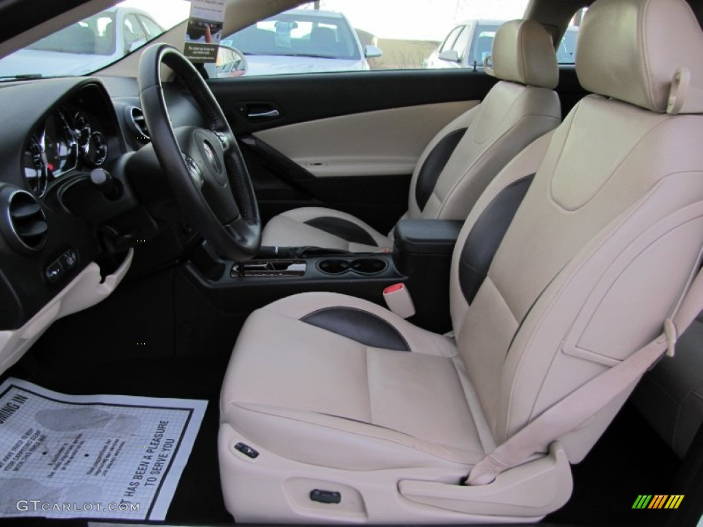 Light Taupe Interior 2008 Pontiac G6 Gxp Coupe Photo