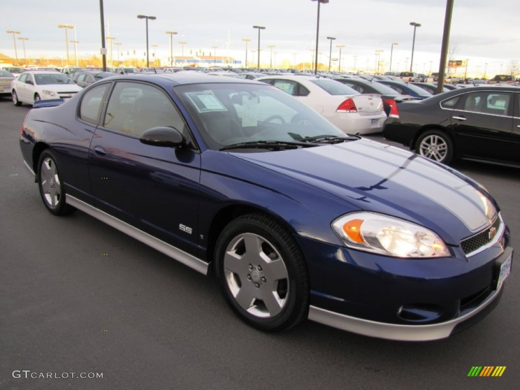 2007 Monte Carlo SS   Imperial Blue Metallic / Ebony Black Photo #1