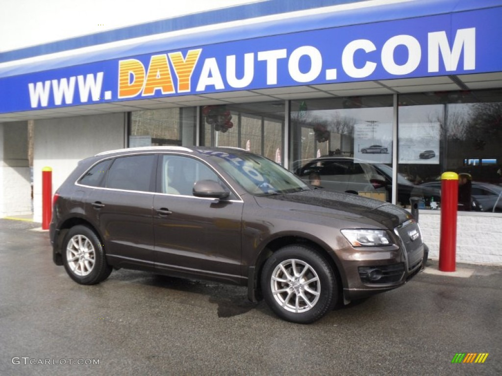 2011 Teak Brown Metallic Audi Q5 2 0t Quattro 58852632