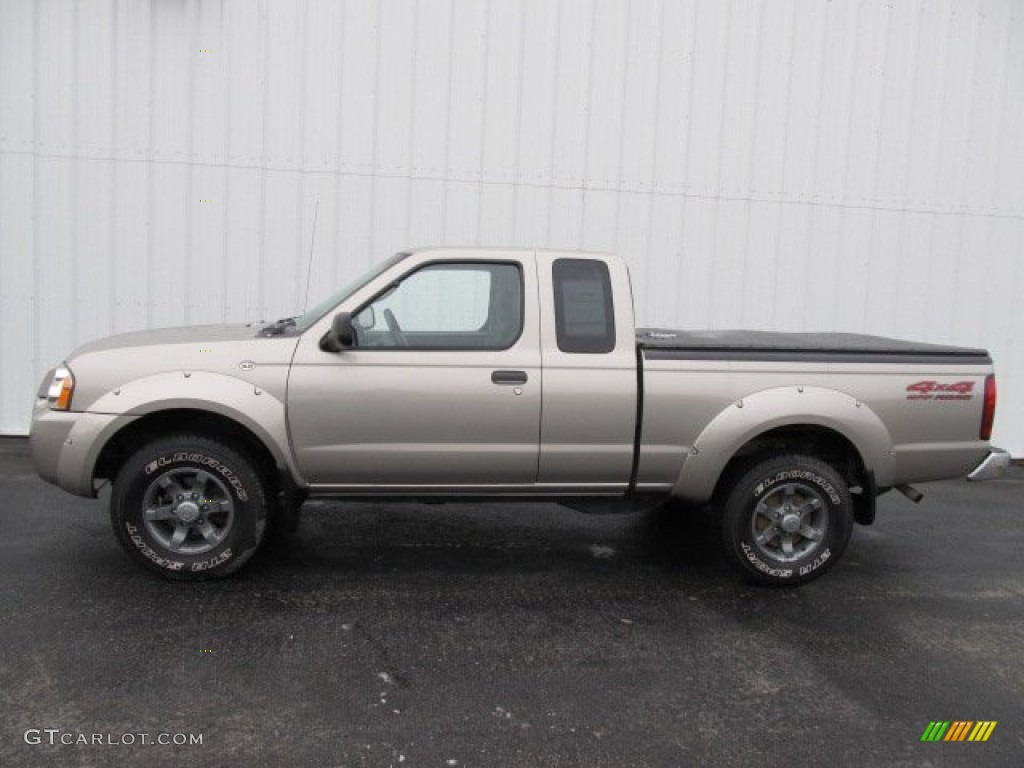 Sand Dune Metallic 2004 Nissan Frontier Xe V6 King Cab 4x4