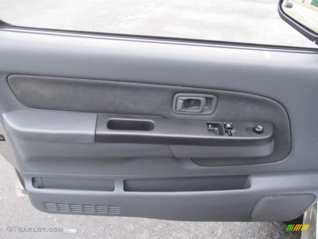 2004 Nissan Frontier XE V6 King Cab 4x4 Gray Door Panel Photo #58860829 & 2004 Nissan Frontier XE V6 King Cab 4x4 Gray Door Panel Photo ...