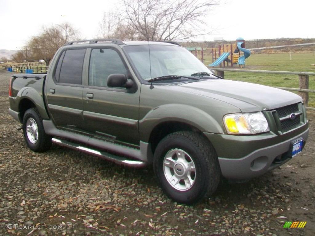 2003 Estate Green Metallic Ford Explorer Sport Trac XLT 4x4 58853210 GTCar