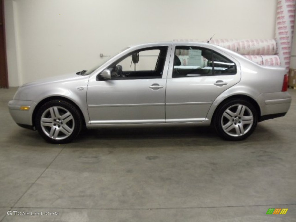 silver arrow metallic 2001 volkswagen jetta glx vr6 sedan. Black Bedroom Furniture Sets. Home Design Ideas