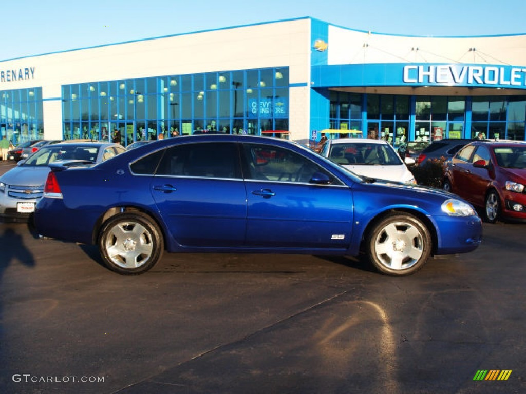 Laser Blue Metallic Chevrolet Impala. Chevrolet Impala SS