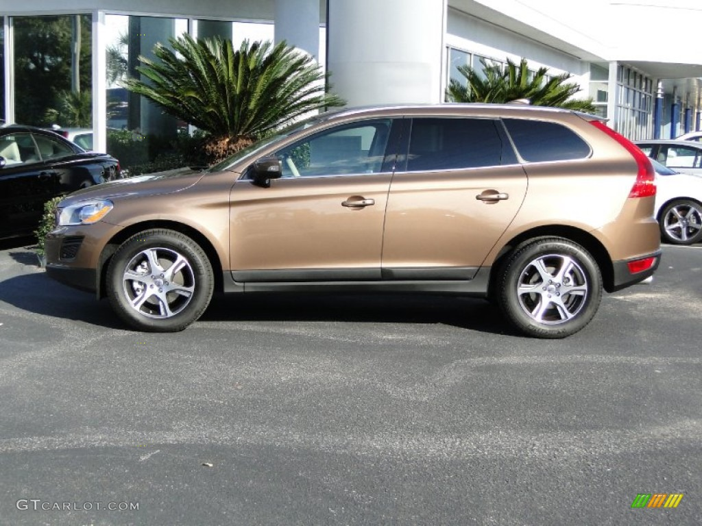 Terra Bronze Metallic 2012 Volvo XC60 T6 AWD Exterior Photo 58881036 GTCar