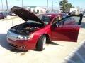 2008 Vivid Red Metallic Lincoln MKZ Sedan  photo #9