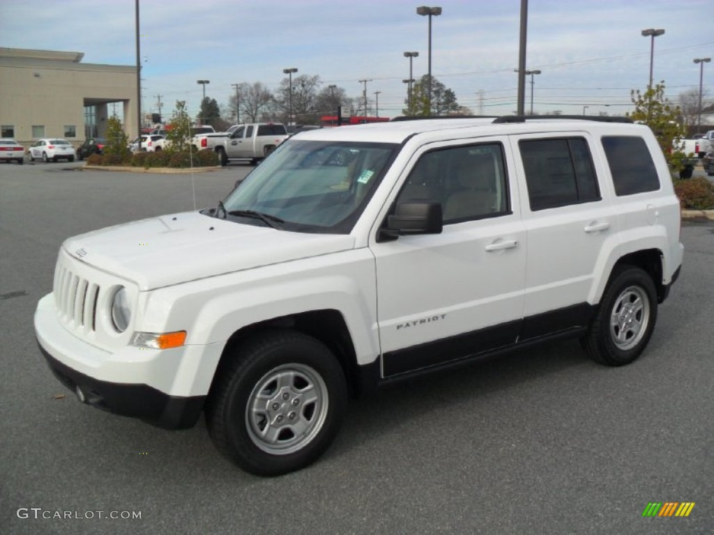 Jeep Patriot Warranty Bright White 2012 Jeep Patriot Sport Exterior Photo ...