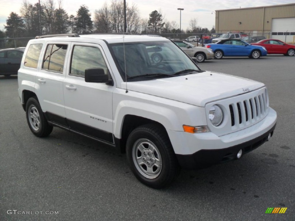 bright white 2012 jeep patriot sport exterior photo. Black Bedroom Furniture Sets. Home Design Ideas