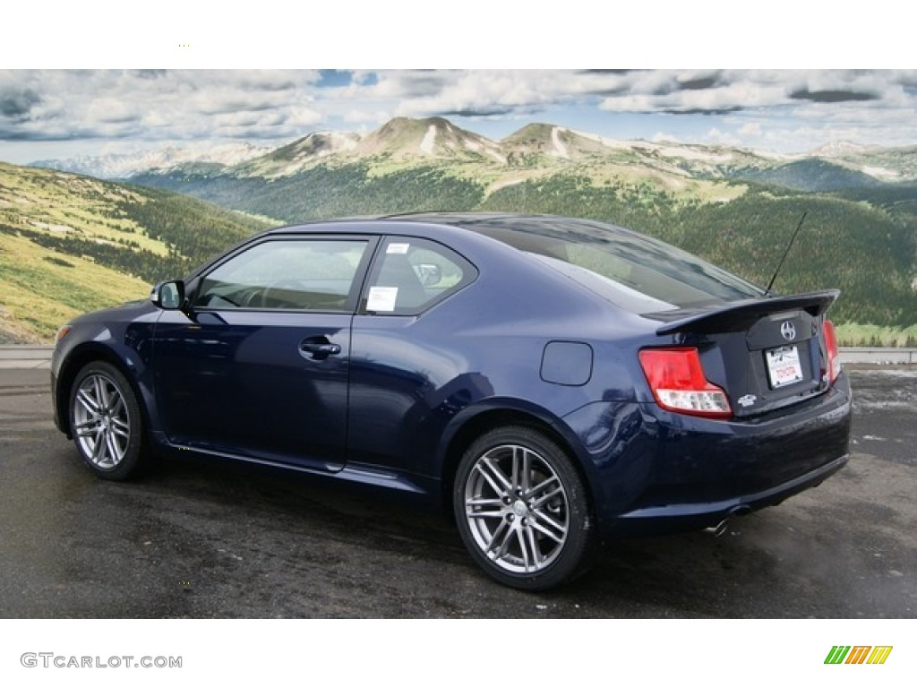 Nautical Blue Metallic 2012 Scion Tc Standard Tc Model