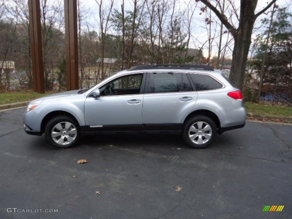 ice silver metallic 2012 subaru outback 3.6r limited exterior