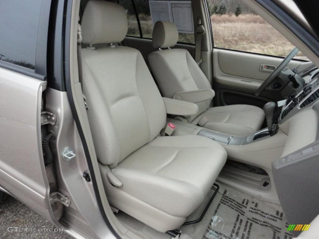 2004 Toyota Highlander I4 Interior Photo 58901787