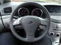 Slate Gray Steering Wheel Photo for 2012 Subaru Tribeca #58903218