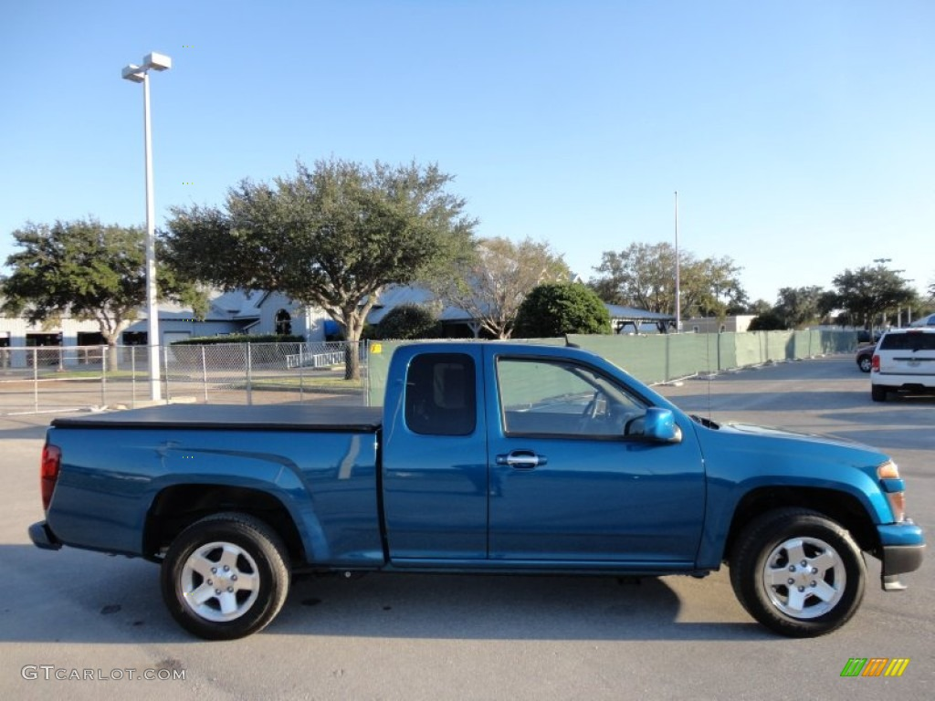 2005 Chevy Colorado Crew Cab Aqua Blue Metallic 2012 Chevrolet Colorado LT Extended Cab Exterior ...