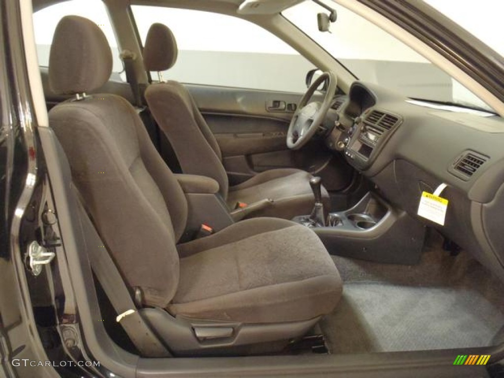 Gray Interior 2000 Honda Civic Ex Coupe Photo 58908577