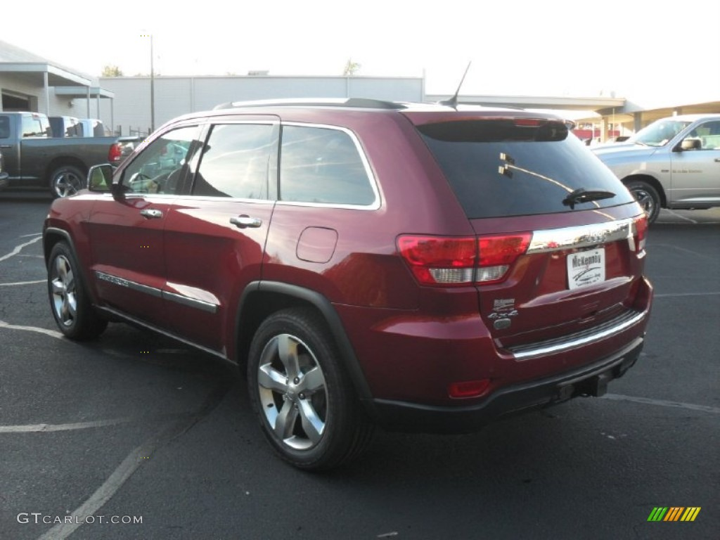 2012 deep cherry red crystal pearl jeep grand cherokee. Black Bedroom Furniture Sets. Home Design Ideas