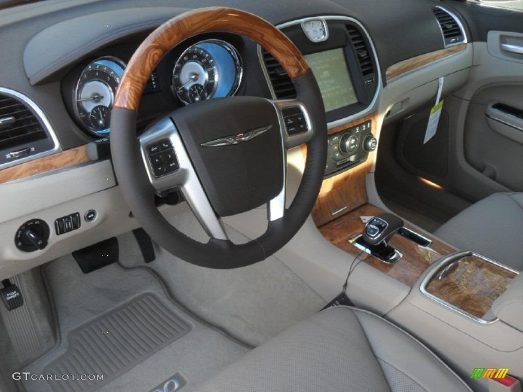 Black Light Frost Beige Interior 2012 Chrysler 300 Limited Photo 58912926