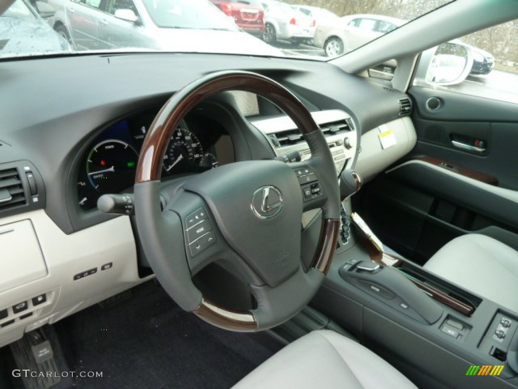 light gray interior 2012 lexus rx 450h awd hybrid photo. Black Bedroom Furniture Sets. Home Design Ideas