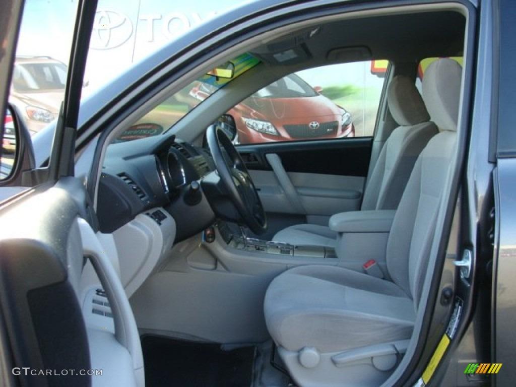 2009 Toyota Highlander Standard Highlander Model Interior Color Photos