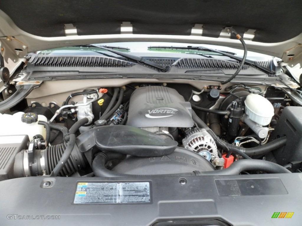 2004 gmc sierra 1500 sle extended cab 4x4 5 3 liter ohv 16 valve vortec v8 engine photo. Black Bedroom Furniture Sets. Home Design Ideas
