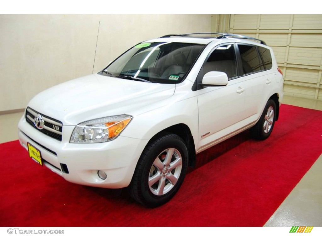blizzard white pearl 2006 toyota rav4 limited exterior photo 58922785. Black Bedroom Furniture Sets. Home Design Ideas