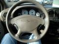 Taupe Steering Wheel Photo for 2003 Chrysler Town & Country #58925183