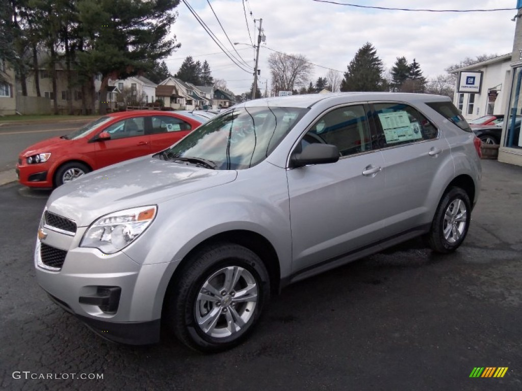 silver ice metallic 2012 chevrolet equinox ls awd exterior photo 58930652. Black Bedroom Furniture Sets. Home Design Ideas
