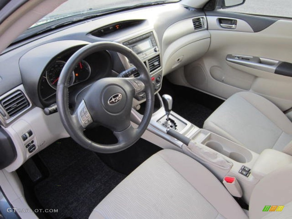 ivory interior 2009 subaru impreza outback sport wagon. Black Bedroom Furniture Sets. Home Design Ideas