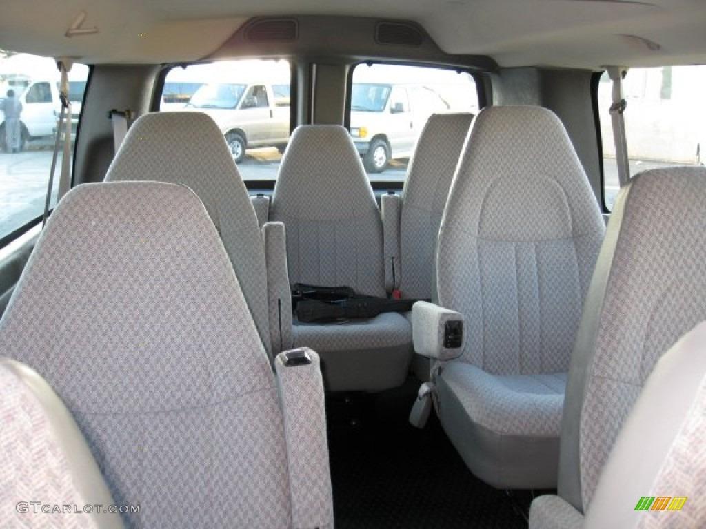 2006 chevrolet express ls 3500 passenger van interior color photos