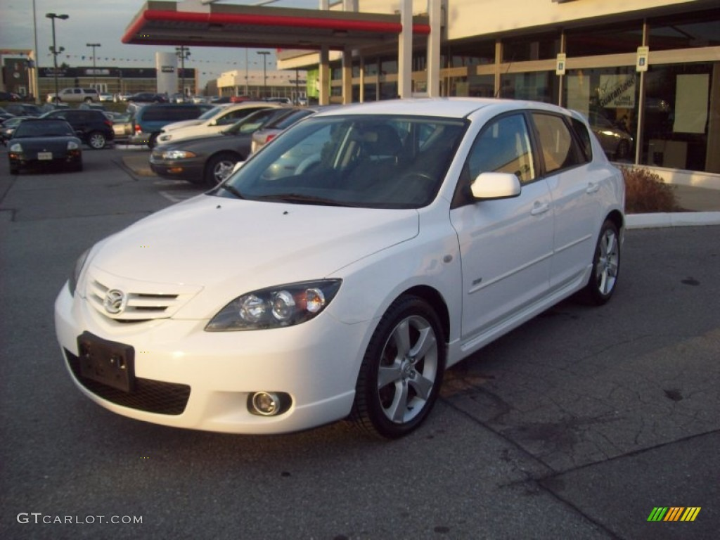 2004 rally white mazda mazda3 s hatchback 58915402 photo 2 car color galleries. Black Bedroom Furniture Sets. Home Design Ideas