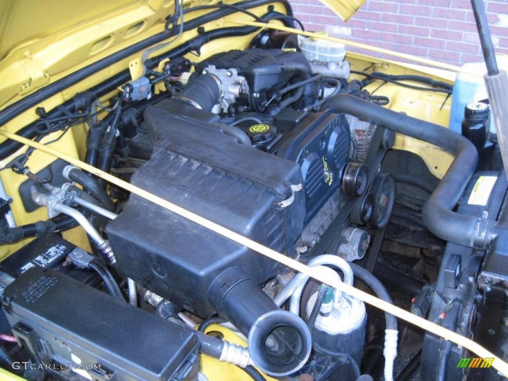 2004 Jeep Wrangler SE 4x4 24 Liter DOHC 16Valve 4 Cylinder