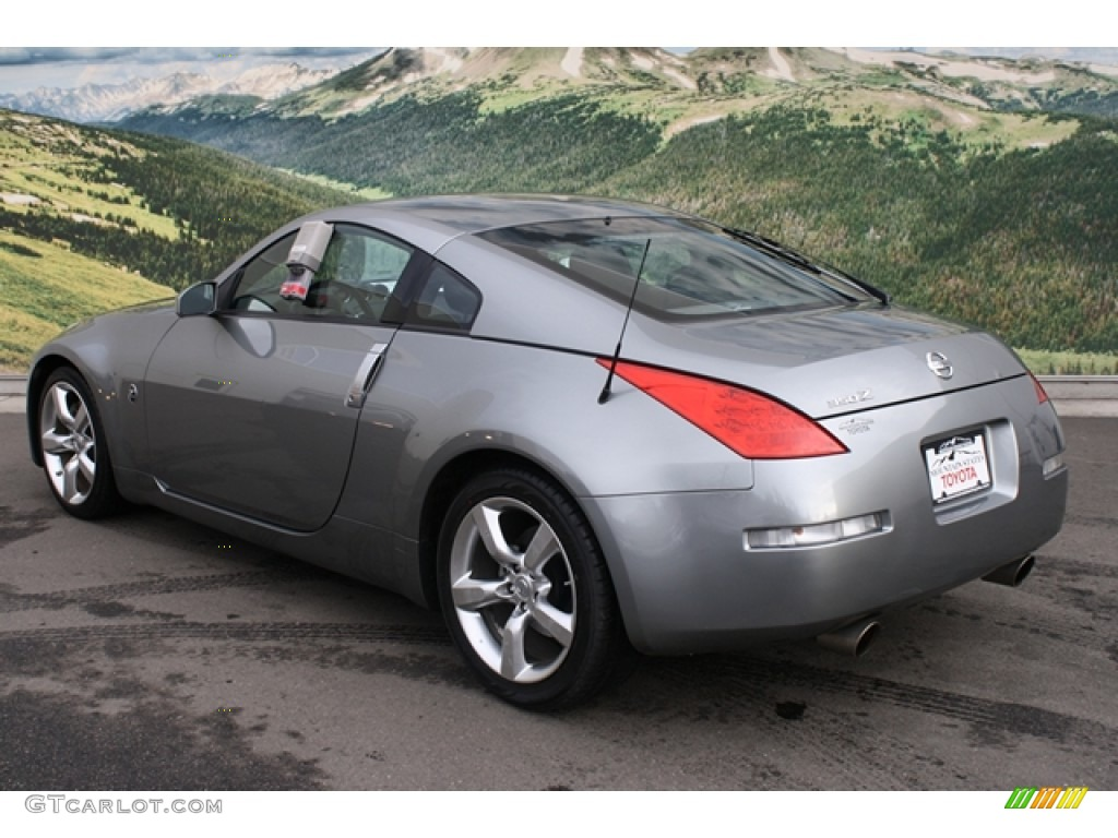 2006 silverstone metallic nissan 350z coupe 58915009. Black Bedroom Furniture Sets. Home Design Ideas