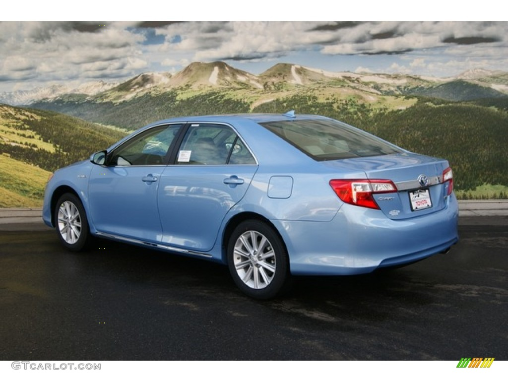 2012 clearwater blue metallic toyota camry hybrid xle. Black Bedroom Furniture Sets. Home Design Ideas