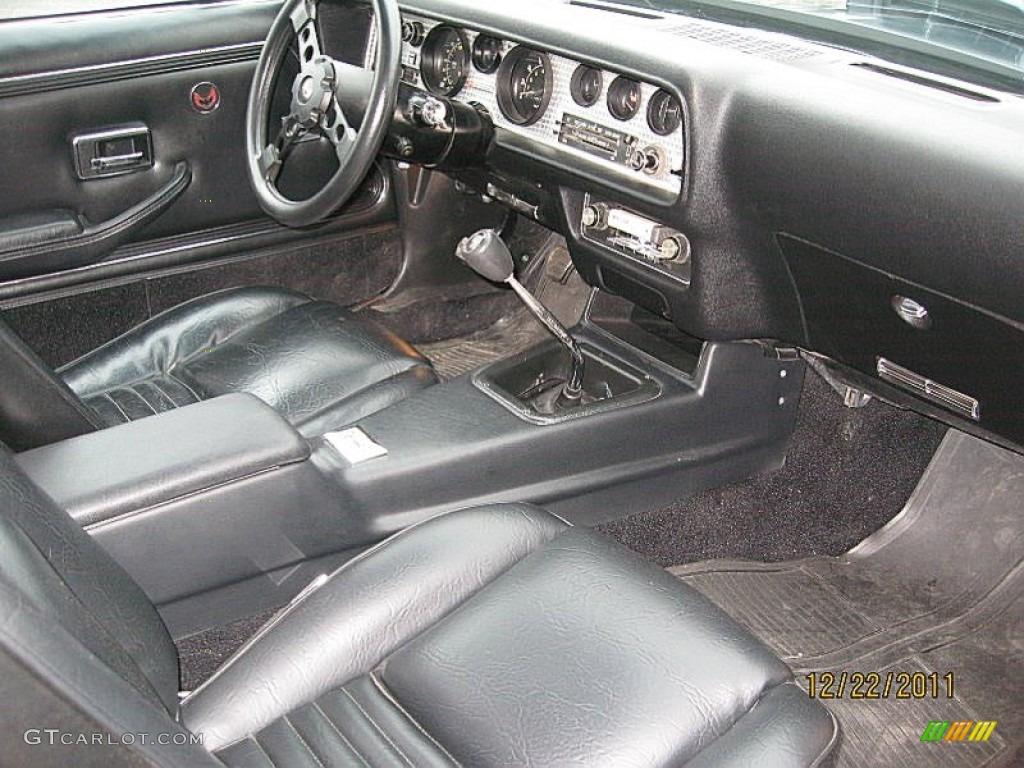 Black interior 1979 pontiac firebird trans am photo 58955109 gtcarlot com