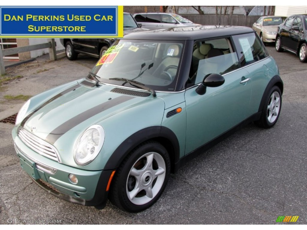 2002 silk green metallic mini cooper hardtop 58914932 car color galleries. Black Bedroom Furniture Sets. Home Design Ideas