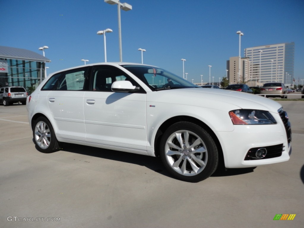 ibis white 2012 audi a3 2 0t exterior photo 58959690. Black Bedroom Furniture Sets. Home Design Ideas