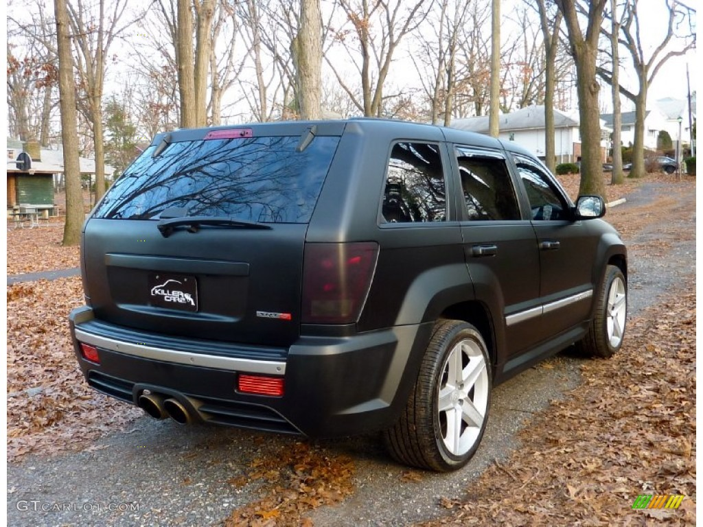 2006 Custom Matte Black Jeep Grand Cherokee Srt8 58915565 Photo 6 Gtcarlot Com Car Color Galleries