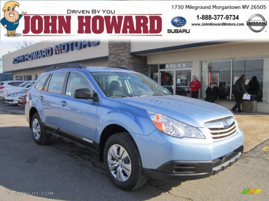2012 sky blue metallic subaru outback 25i 58915556 photo 7 sky blue metallic subaru outback vanachro Images