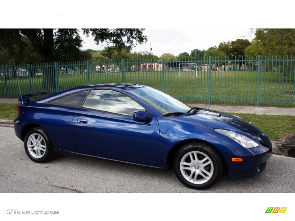 spectra blue mica 2000 toyota celica gt exterior photo. Black Bedroom Furniture Sets. Home Design Ideas