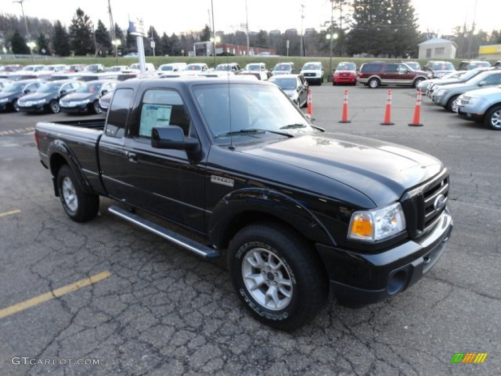 black 2011 ford ranger sport supercab 4x4 exterior photo 58977671. Black Bedroom Furniture Sets. Home Design Ideas