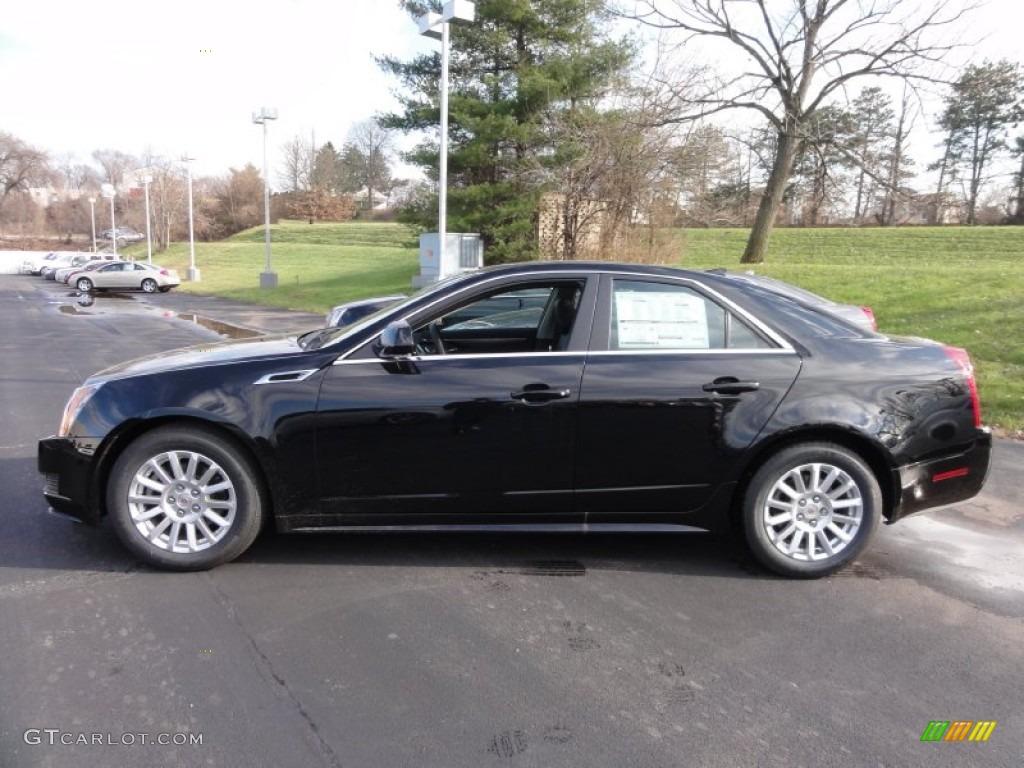 Black Raven 2012 Cadillac Cts 4 3 0 Awd Sedan Exterior