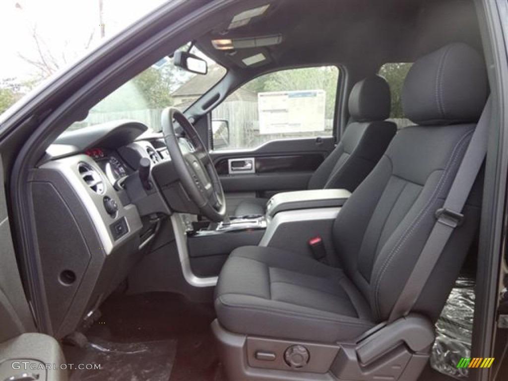 2015 Ford F 150 Regular Cab >> Black Interior 2012 Ford F150 FX4 SuperCrew 4x4 Photo ...