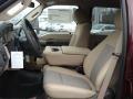 2012 Autumn Red Metallic Ford F250 Super Duty XLT Crew Cab 4x4  photo #11